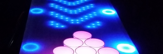 Final Prototype for the Interactive LED Beer Pong Table!