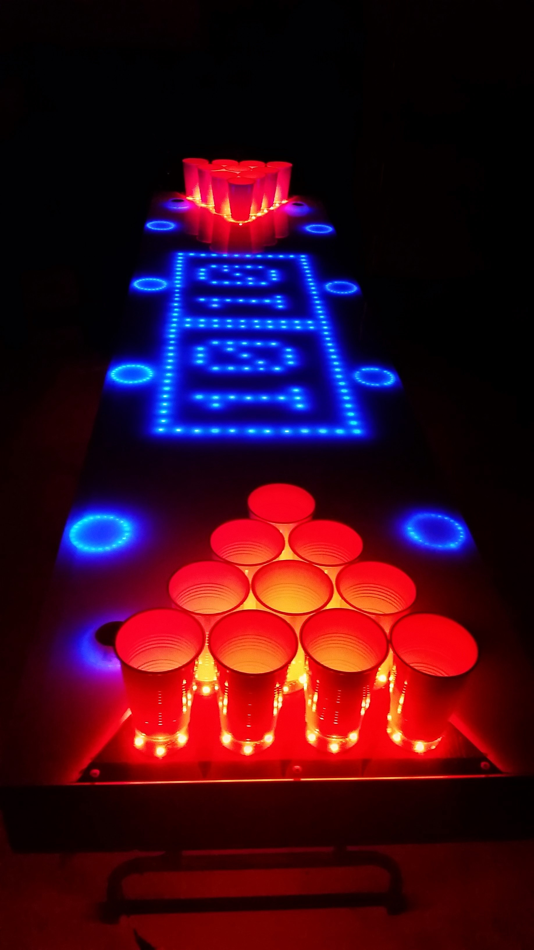 Interactive Led Beer Pong Table X5 Retired Chexal